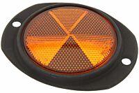 Reflektor orange flach