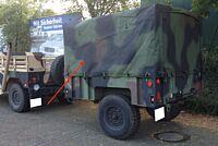 Verdeck M1101 / M1102 Carmoflage