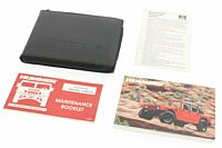 H1 Owners Manual 1995