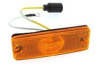 LED Begrenzungsleuchte orange flach (Gorte)