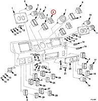 Kontrollleuchte Bremse & Anschnallgurt